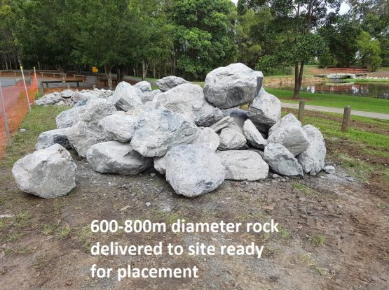 Large Rocks and Lots of Plants