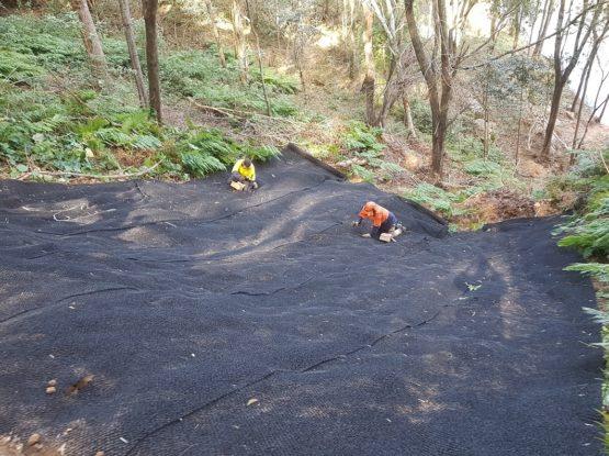 Mountain Bike Trail Repair
