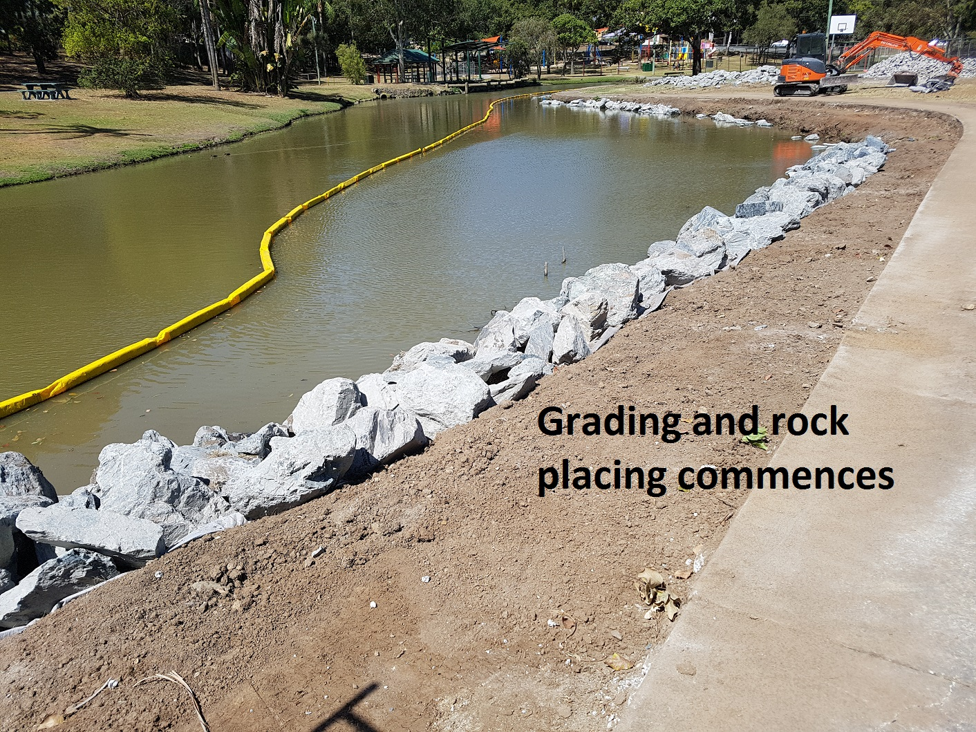 Waterway Embankment Stabilisation