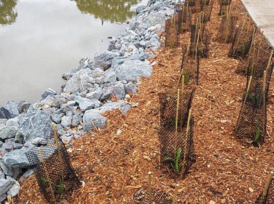 Waterway Embankment Stabilisation